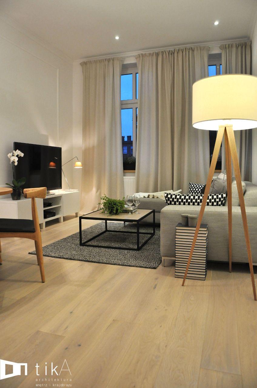 foorni.pl | Mieszkanie w kamienicy – TIKA #modern #style #livingroom ...