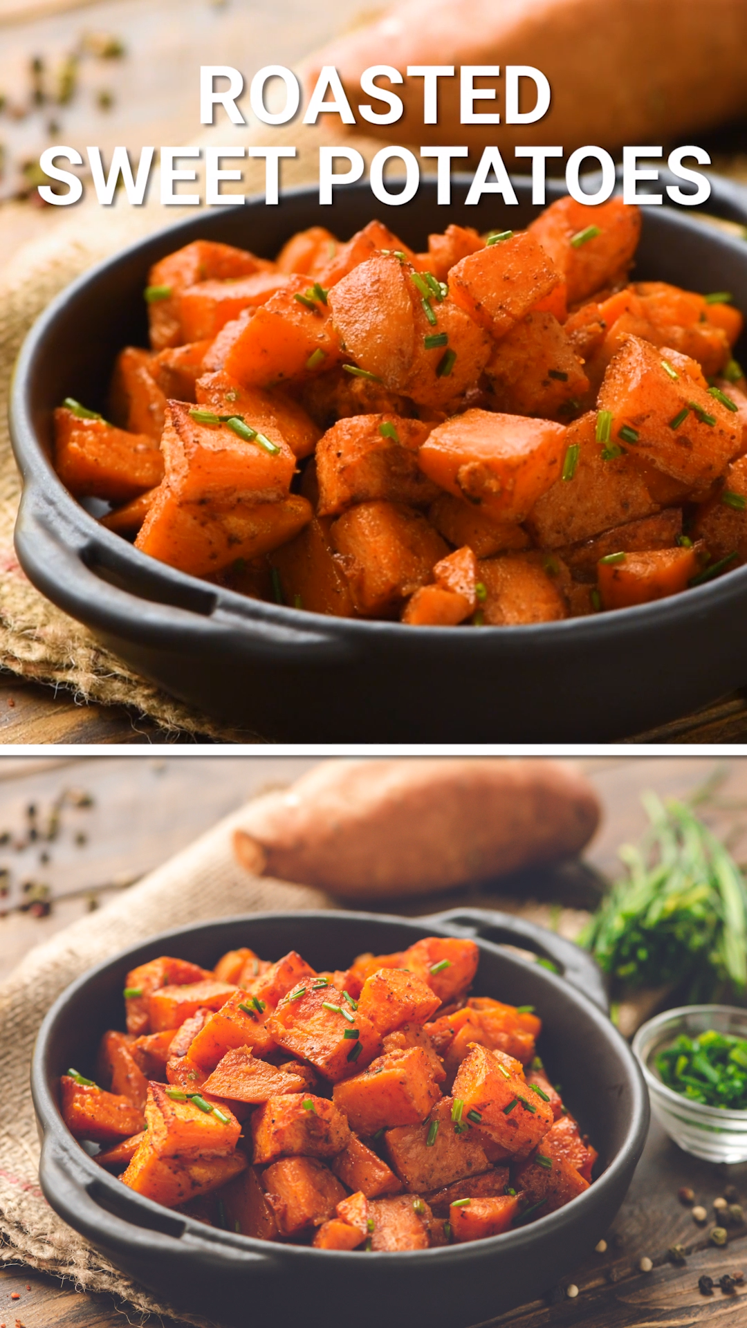 Photo of Quick and easy Roasted Sweet Potatoes are the perfect healthy side dish recipe o…