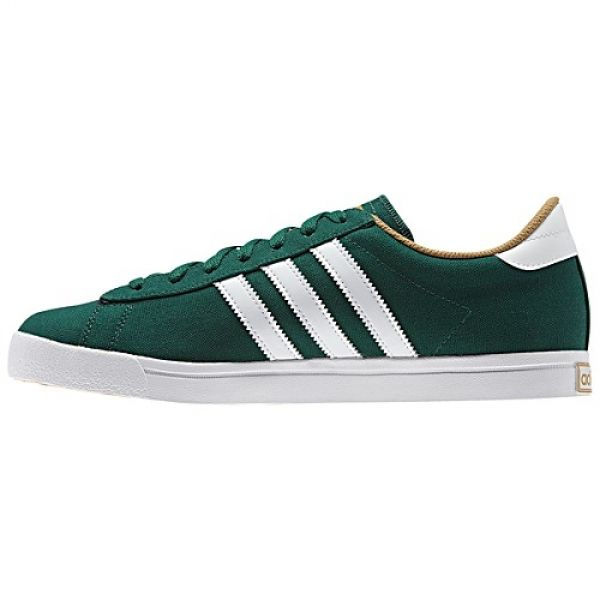 573ee4168b5b1 ADIDAS ORIGINALS GREENSTAR TRAINERS FOR MEN IN FOREST GREEN - ADIDAS  ORIGINALS - MelMorgan Sports