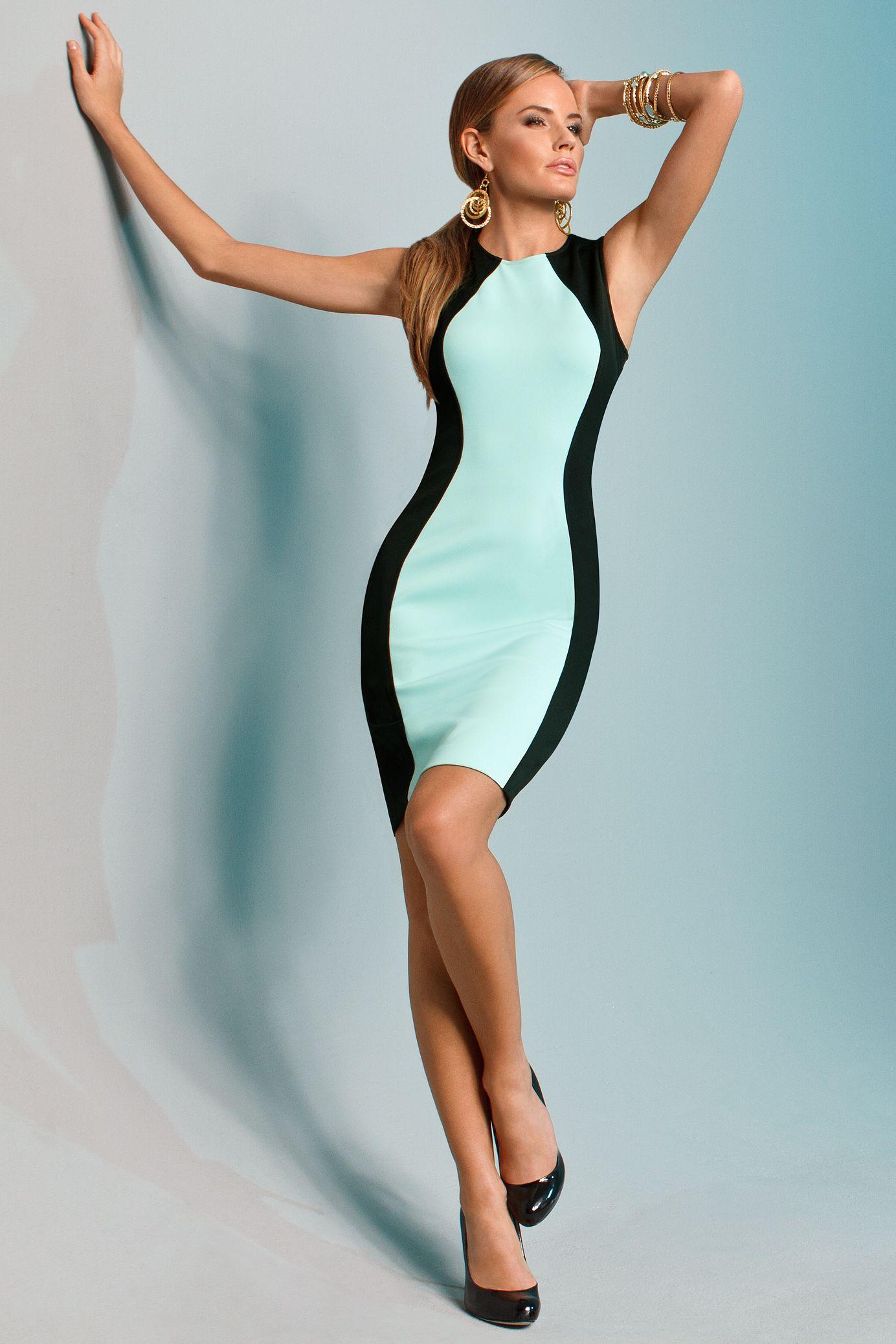 Scuba Inspired Dresses