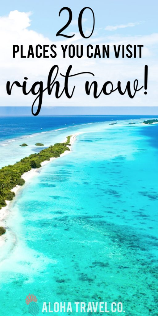 Where Can Americans Visit Right Now Places Open To Us Tourists In 2020 Hawaii Travel Deals Belize Vacations Visit Aruba