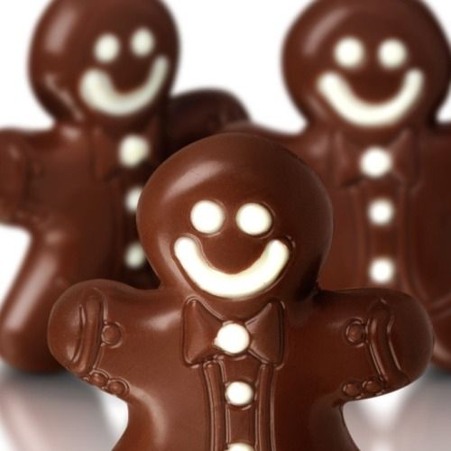 Chocolate gingerbread men chocolate christmas christmas pictures