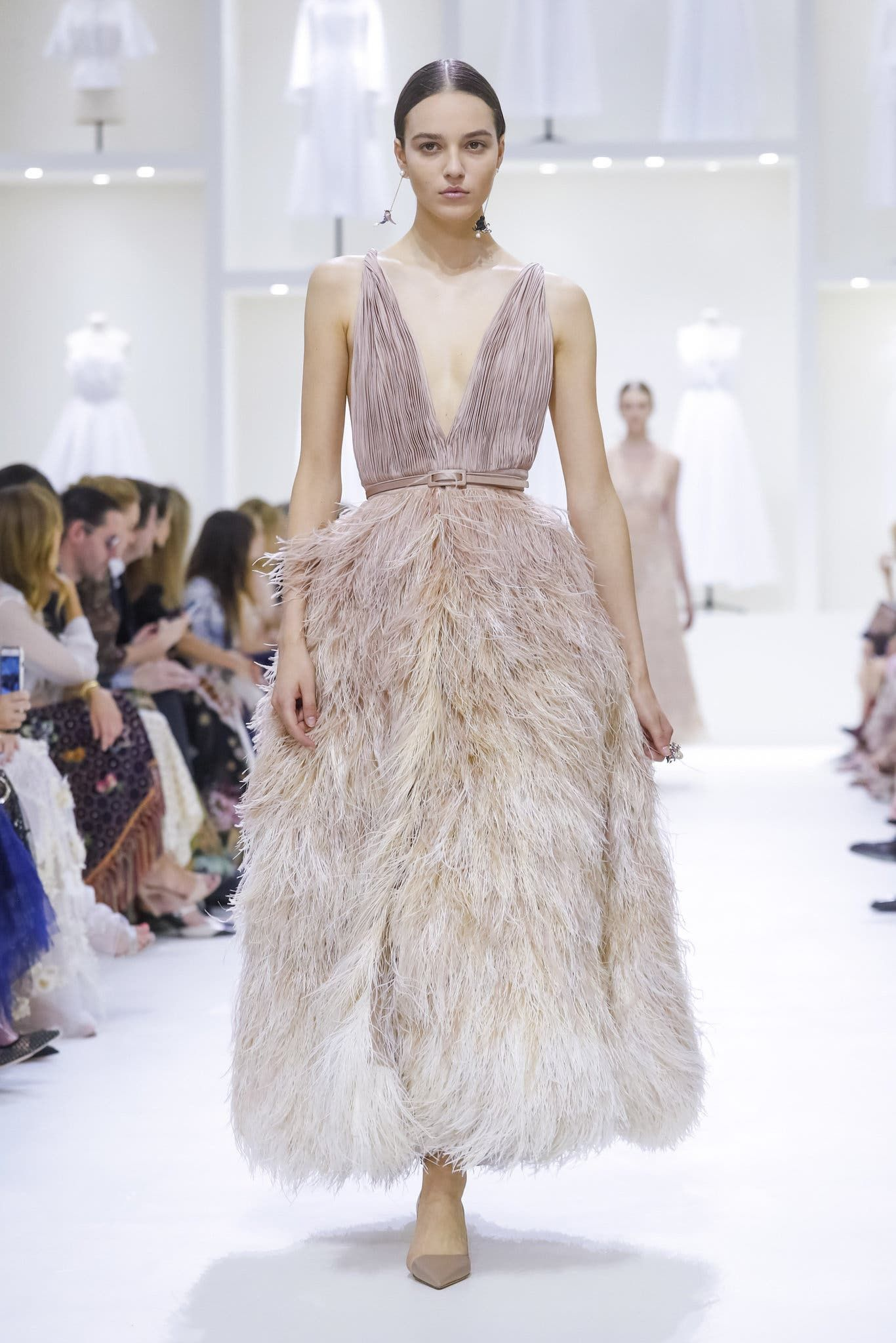 Christian Dior Fall 2018 The New York Times Top model