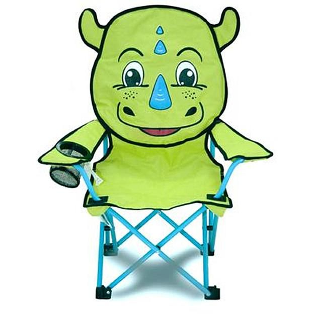 Enjoyable Northwest Territory Kids Animal Head Camping Chair Green Theyellowbook Wood Chair Design Ideas Theyellowbookinfo
