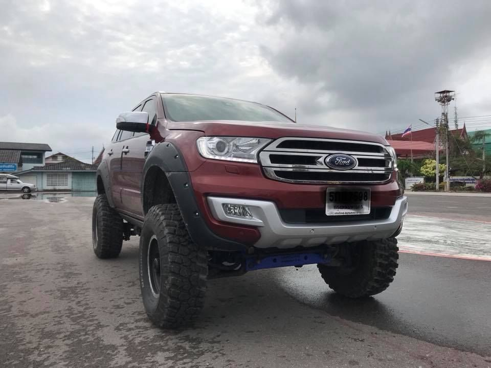 Ford Everest With 4 Lift And 35 Tyres Ford Bronco Ford Ford