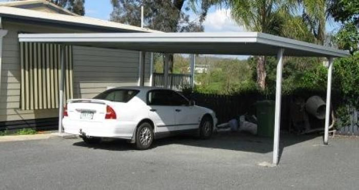 Double Flat Roof Carport 6m X 6m X 2 4m Needs To Be Simple And Blend In With Rest Carport Prices Carports For Sale Carport