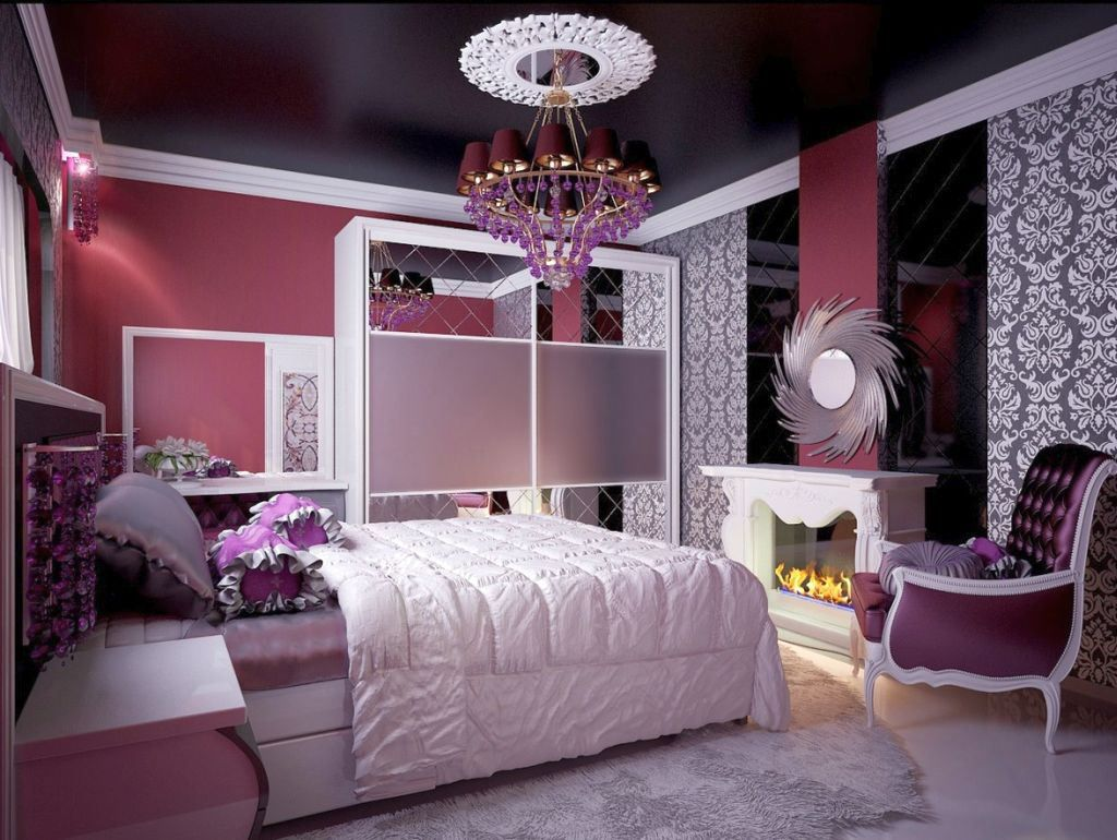 Unique Beds For Girls With Vintage Chandelier Kids Rooms