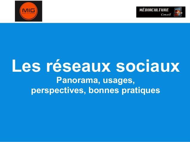 Les réseaux sociaux en 2013 : perspectives, tendances - #socialmedia #smo
