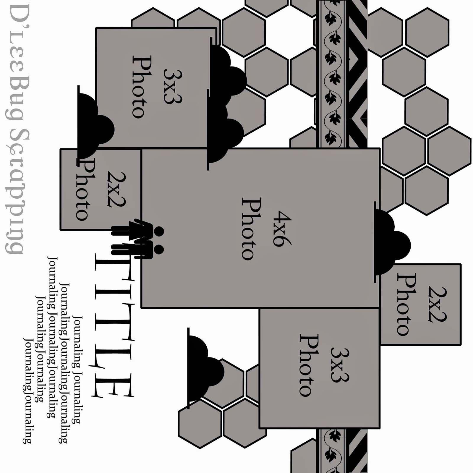 LIZZY HILL: SCRAPSTUFFZ August challenge...& a TUTORIAL up at 3rd EYE..