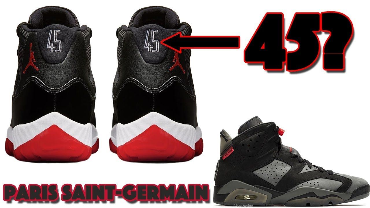 Mayor acción Notable  AIR JORDAN 11 BRED 2019 RELEASING WITH 45, PSG JORDAN 6, SUPREME JORDAN ...  | Air jordans, Air jordan 11 bred, Jordan 11 bred