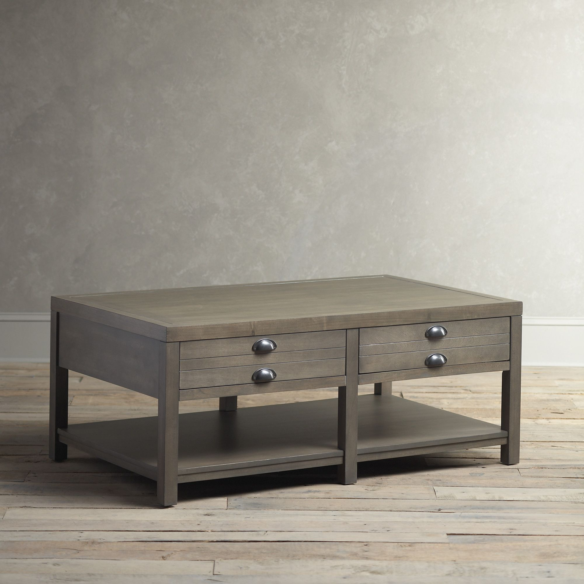 13++ Living room coffee table with storage info
