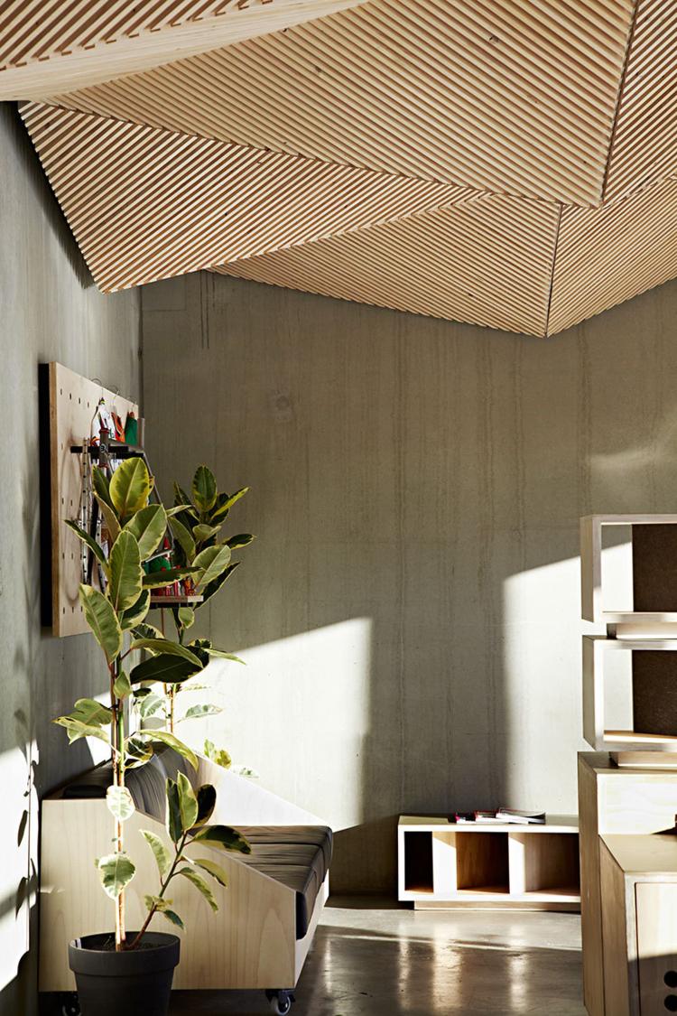 Lambris Mural Design Et Panneaux D Co En Lamelles De Bois Ceiling