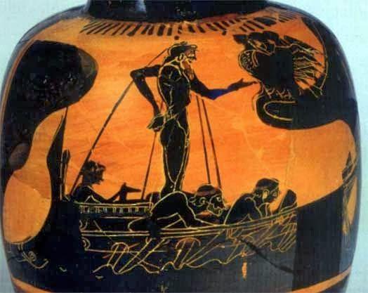 Ulises Y Las Sirenas Greek Art Greek Pottery Ancient Art