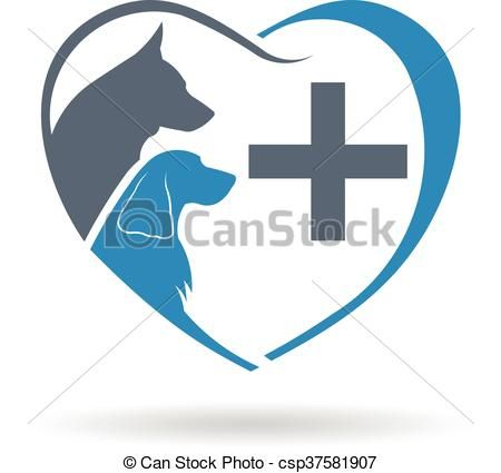 Vector Clipart Of Veterinary Care Logo Vector Graphic Design Csp37581907 Search Clip Art Illustration Drawings And Vector E Care Logo Vector Logo Clip Art