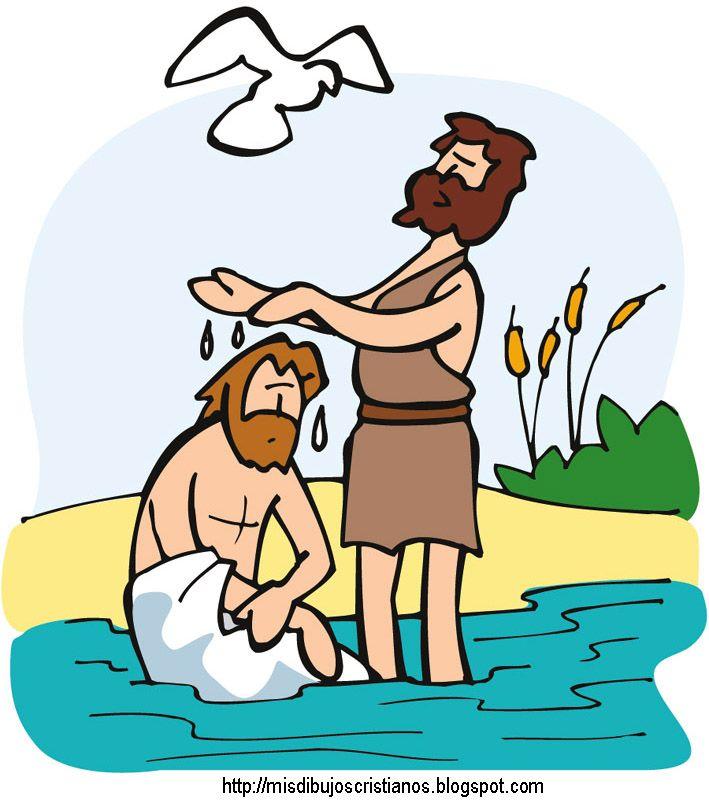 Bautizo de Jesus | Colorear y dibujos cristianos | Pinterest | De ...
