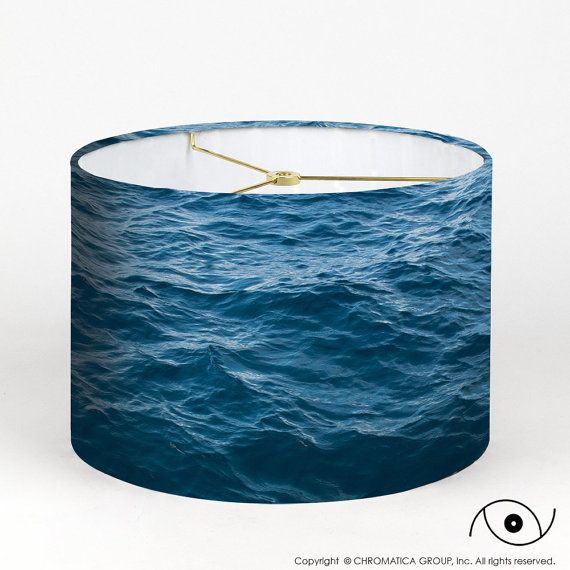 Lamp shade ocean photography lampshade lampshades drums and drum photo lampshade lampshades aloadofball Choice Image