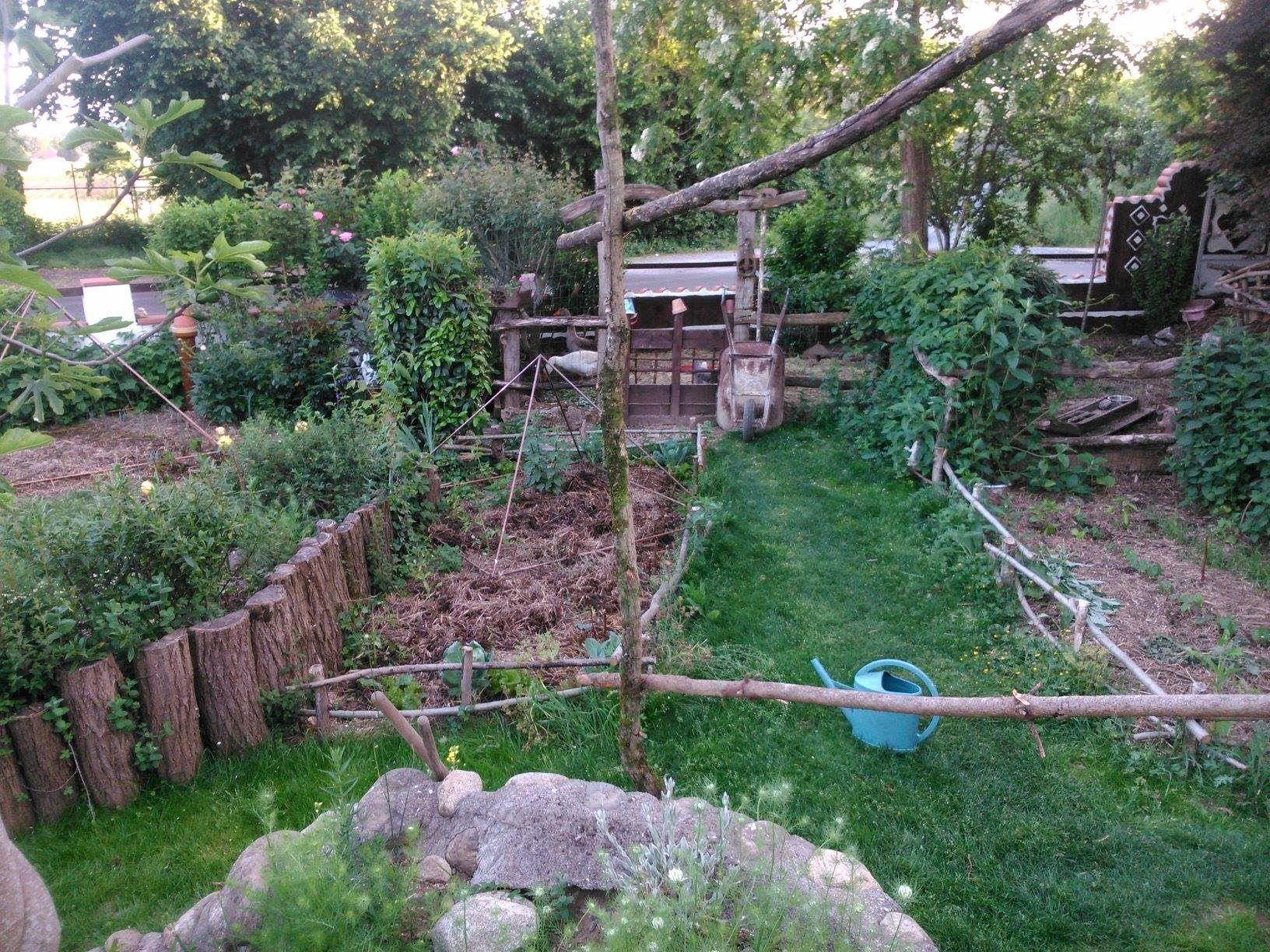 jardin de lo c permaculture et electroculture gardening i herbs berries tomatoes greens