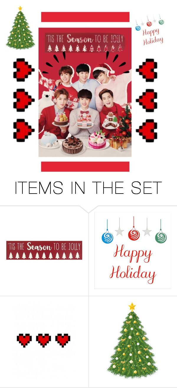 """""""Happy holidays!"""" by exo-kay on Polyvore featuring art"""