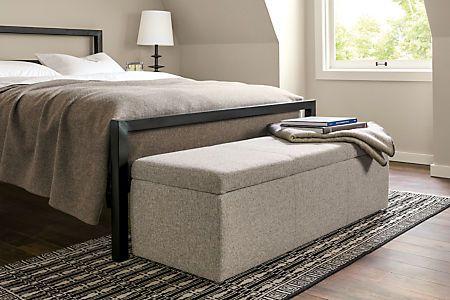 Tyler Modern Storage Ottomans - Modern Benches & Stools - Modern Bedroom Furniture - Room & Board