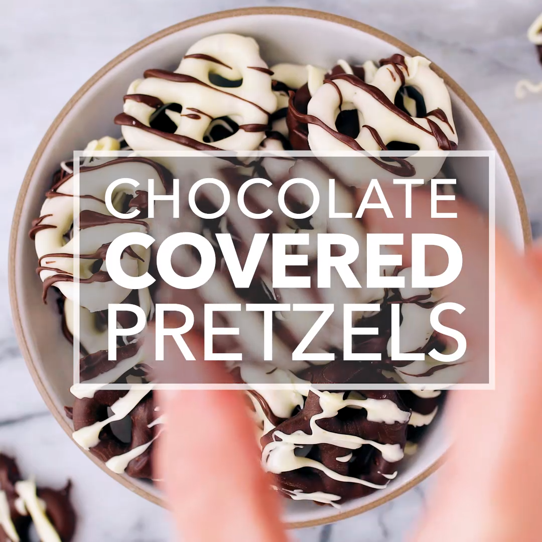 Chocolate-Covered Pretzels images