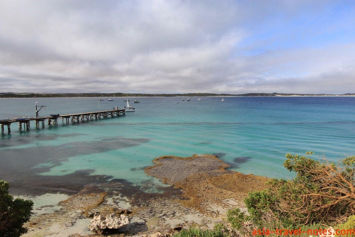 jetty off vivonne bay #kangarooisland