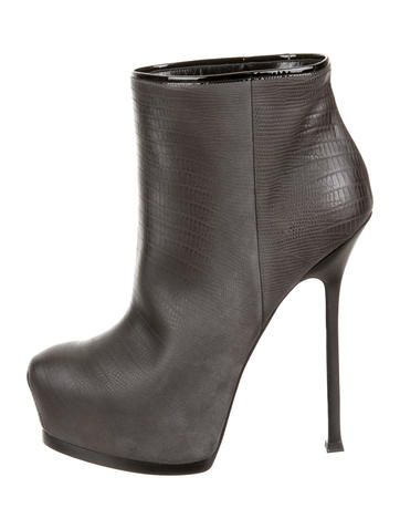 Yves Saint Laurent Tribute Two Boots w/ Tags buy cheap wholesale price GuLHzKQN