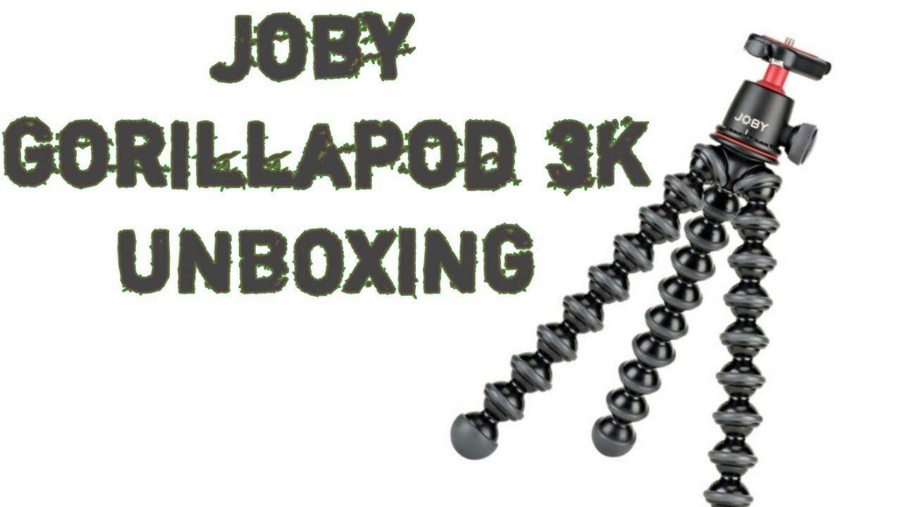 Joby Gorillapod 3k Unboxing And Comparision With 1k Gorilla Pod Kit Jobygorillapod