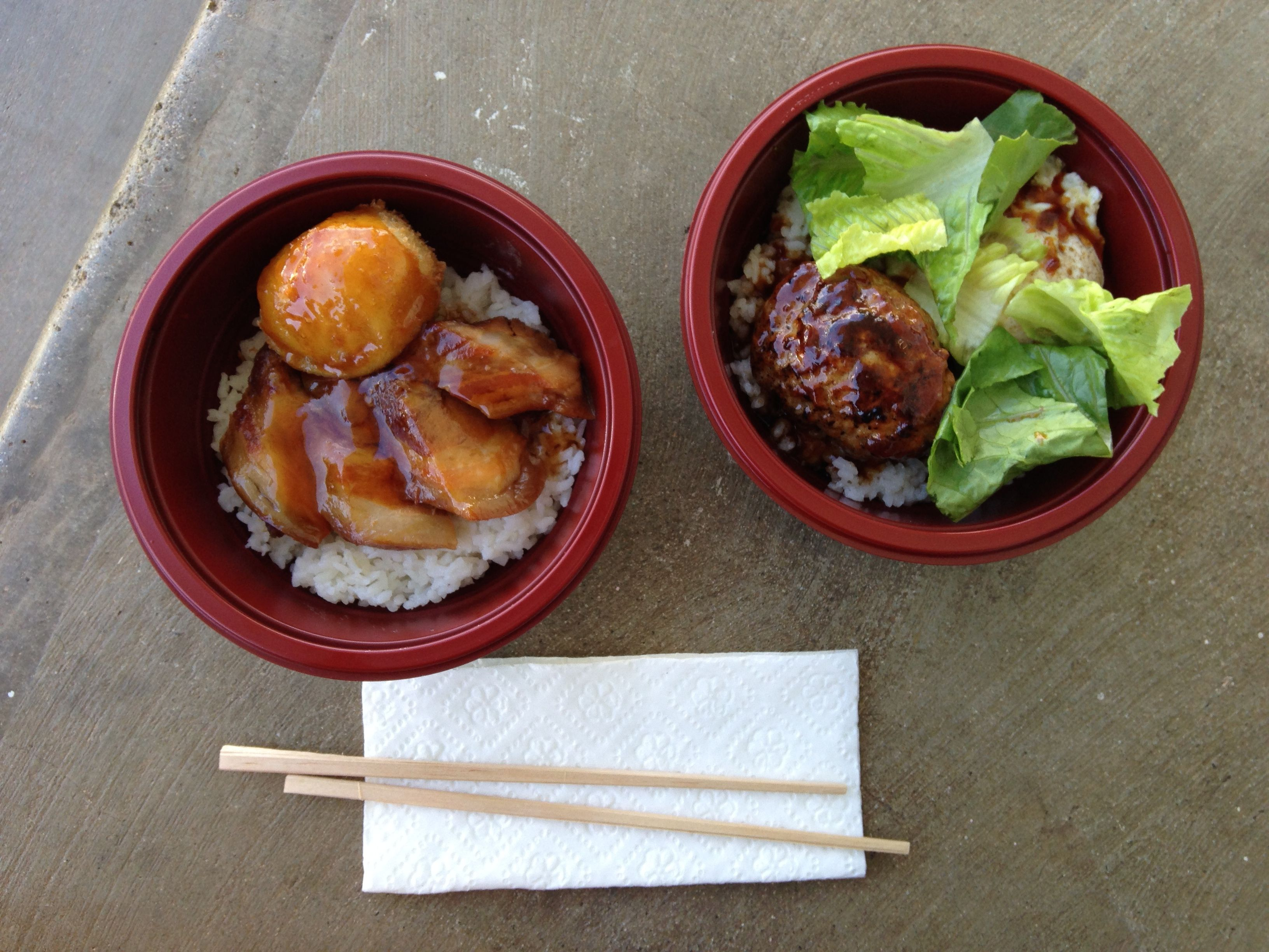 Loco Moco and Pork Belly Bowl with panko-breaded egg at Your Kitchen ...