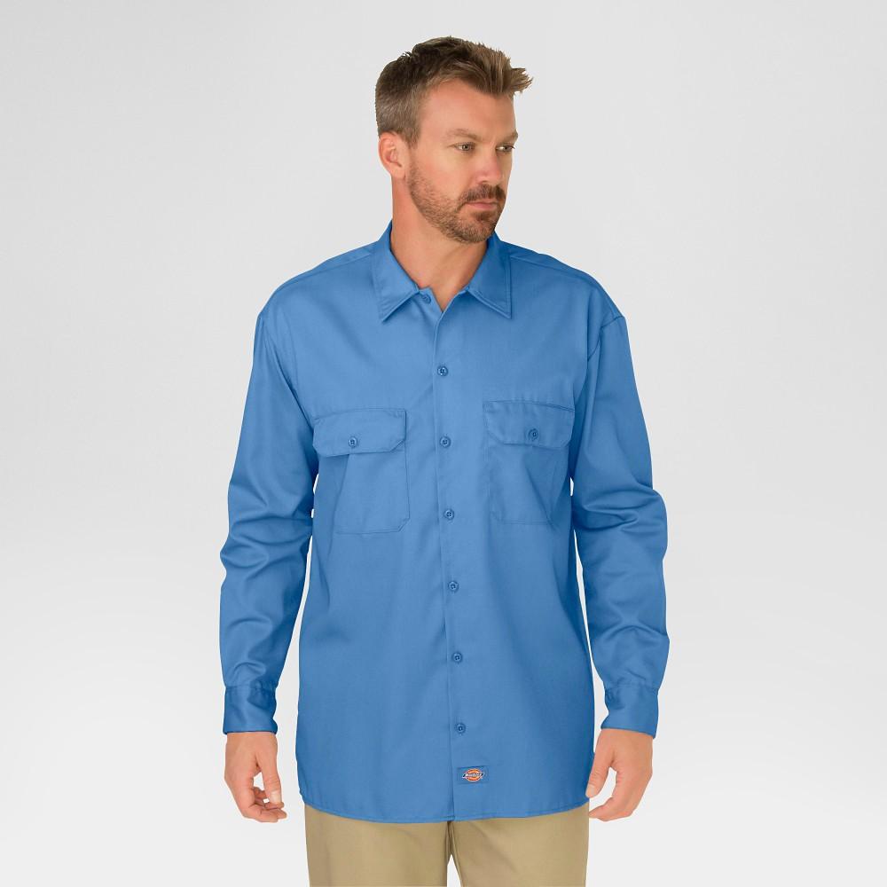 Dickies Mens Big-Tall Long-Sleeve Work Shirt