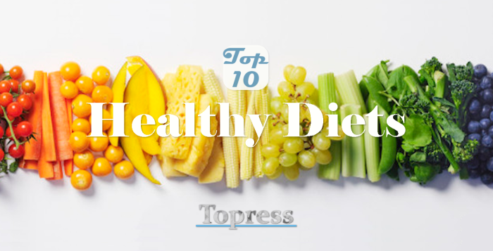 It's not about the Weight but Health – Top 10 Healthy Diets