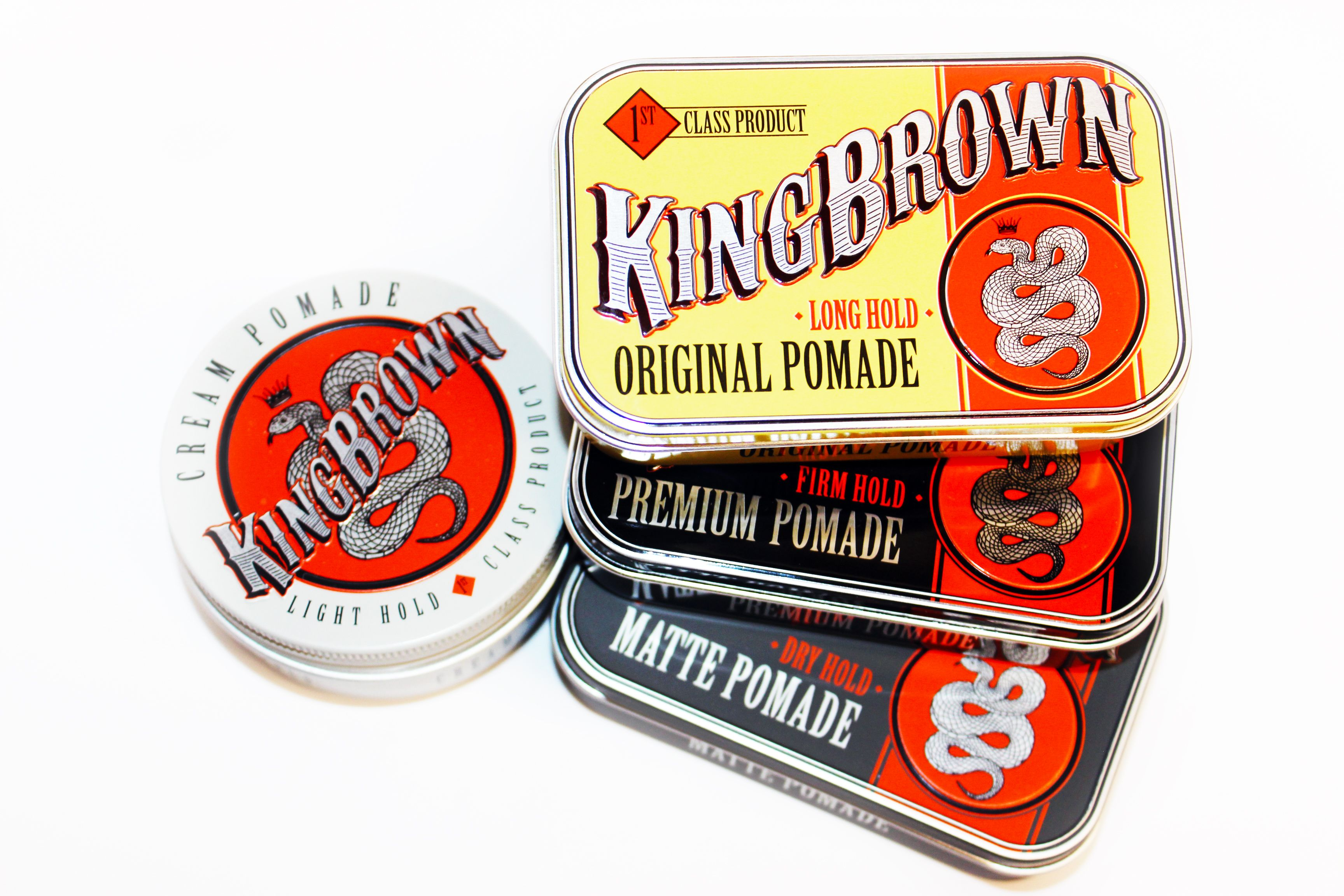 The King Brown Line Is Available One Thing We Noticed Was That They Pomade