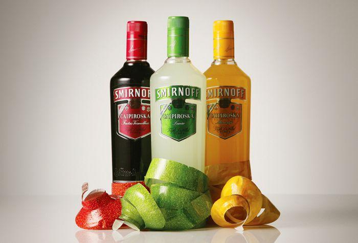 Smirnoff Caipiroska Peelable Bottle | Creative packaging design, Smirnoff,  Clever packaging