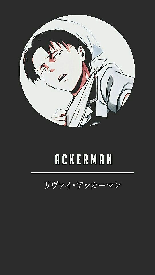 Levi Ackerman Wallpaper Phone Profile Anime Wallpaper Iphone Anime Wallpaper Levi Ackerman