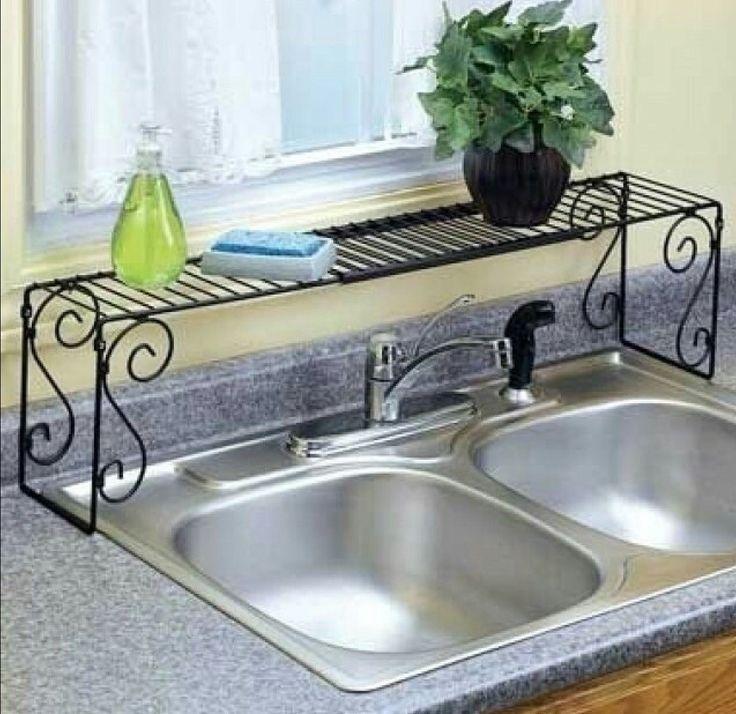 repisas para el fregadero | Salas de artesanías | Sink shelf ...