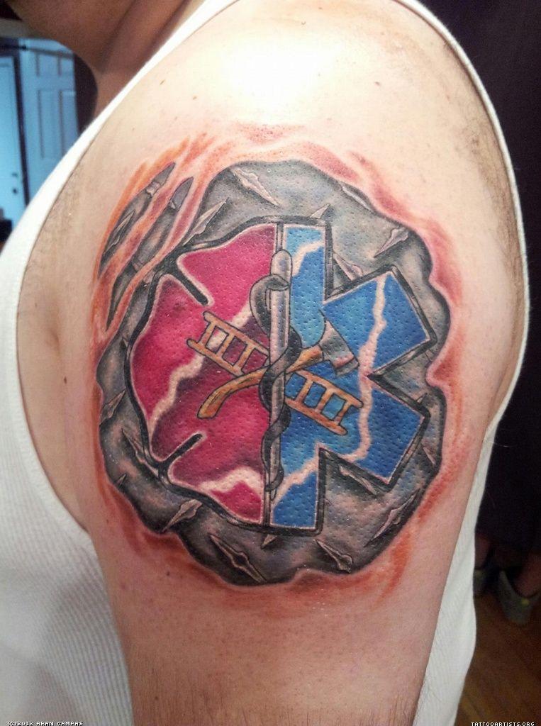 emt tribal tattoos custom firefighter piece paramedic star tattoo stencil pinterest. Black Bedroom Furniture Sets. Home Design Ideas
