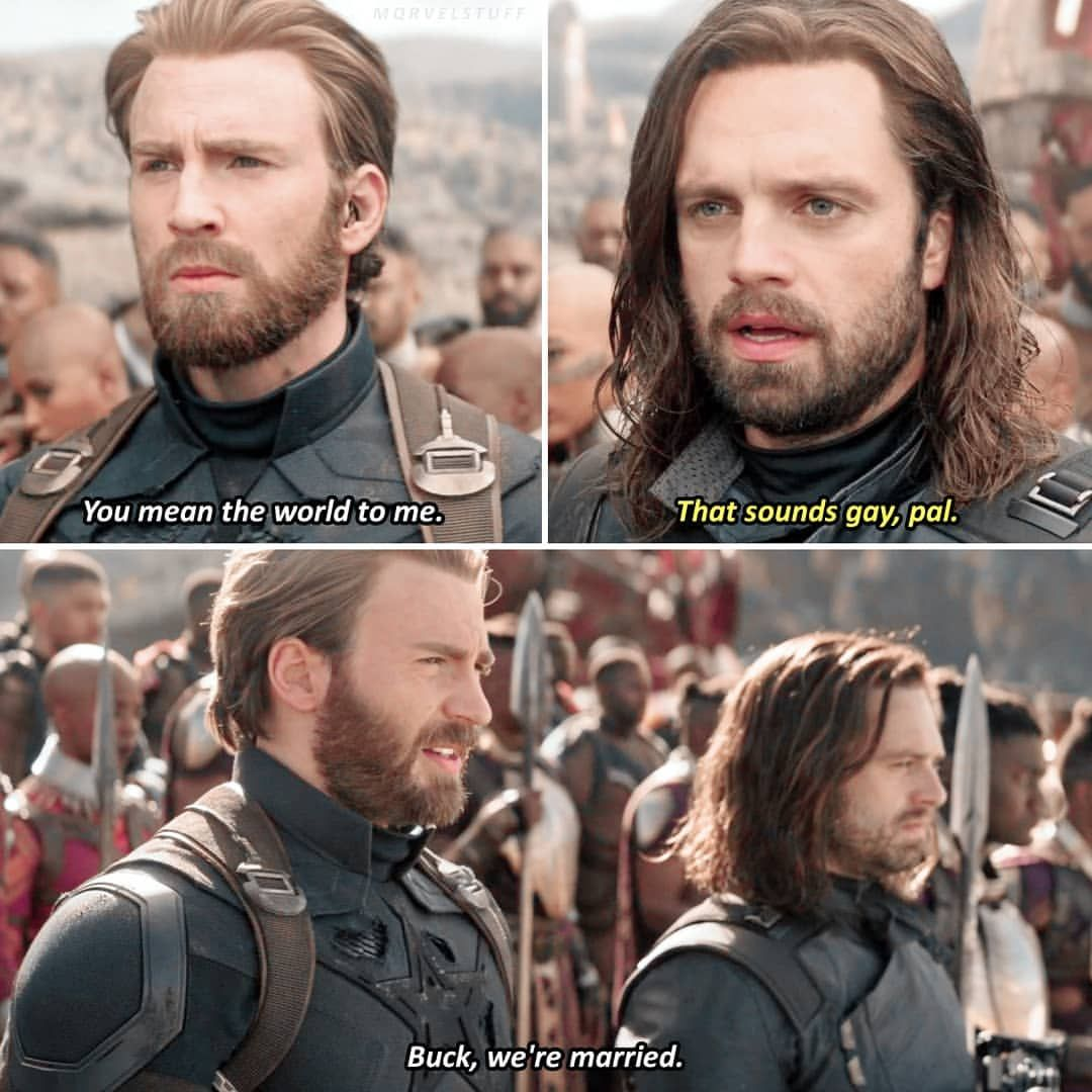 [incorrect quote] happy birthday Bucky, I love you so much ...