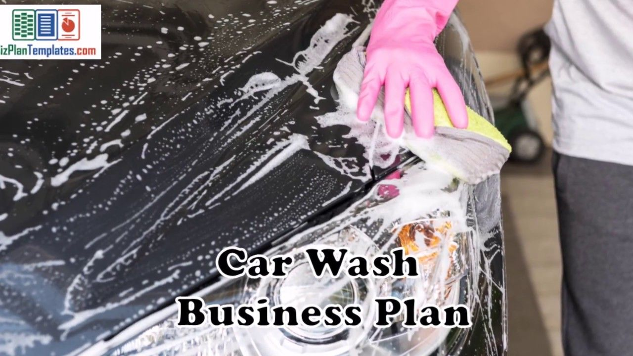 Car wash business plan template with example and sample financials car wash business plan template with example and sample financials wajeb Image collections