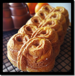 Pumpkin Yeast Bread with Orange and Cardamom