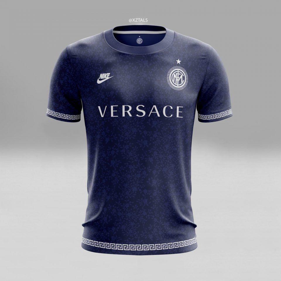 size 40 a8fff d6857 LES MAILLOTS DE FOOT TRÈS STYLÉS D'ANDY SLATER - Inter Milan ...