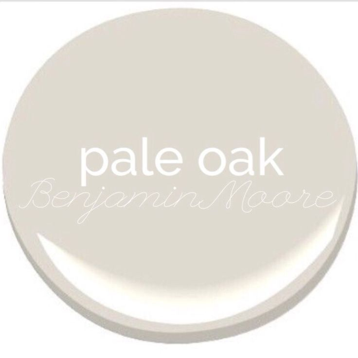 Pale Oak Benjamin Moore Paint Interior Paint Ideas