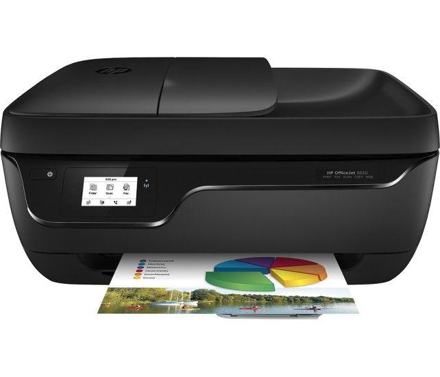 HP OfficeJet 3830 Wireless AllInOne Printer Black