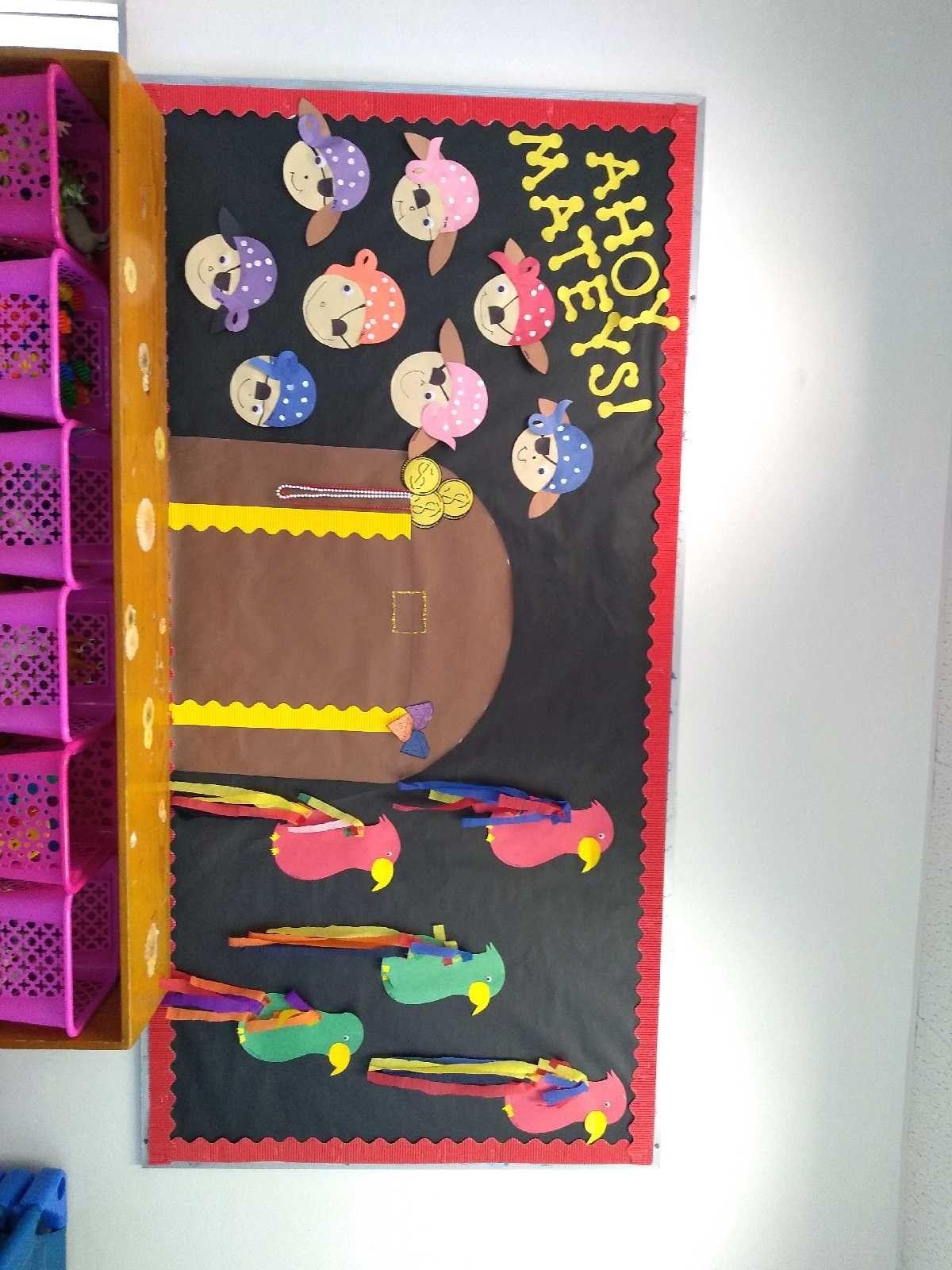 Pirates bulletin board Preschool Preschool bulletin