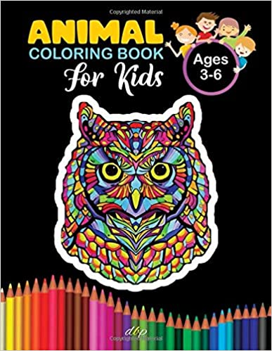 Animal Coloring Book For Kids Ages 3 6 Animal Coloring Book For Kids Ages 3 6 Coloring Pages With Elep Cat Coloring Book Animal Coloring Books Coloring Books