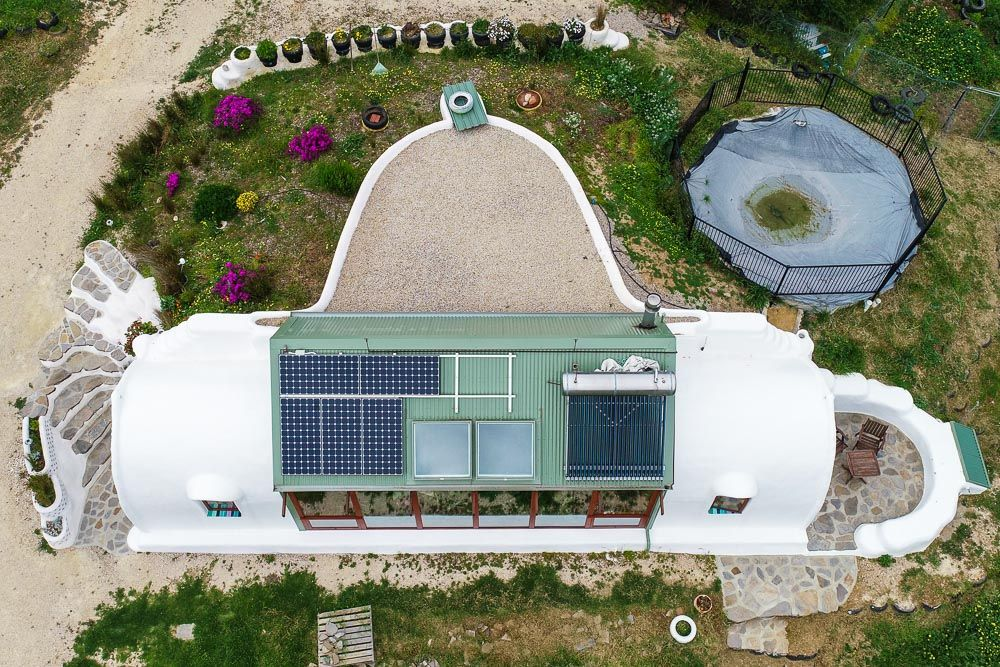 Incredible Small Off Grid Earthship Home Living Big In A
