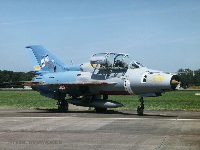 Mig-21UM (Mongol-B) No.3756 CzAF