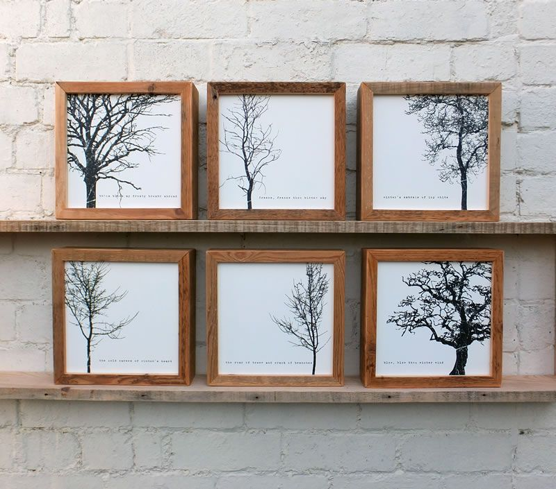 scandinavian prints to frame - Google Search | reclaimed wood frame ...