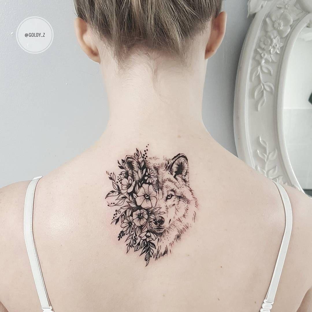 lobo y flores u as ale pinterest tattoo ideen tattoo vorlagen und t towierungen. Black Bedroom Furniture Sets. Home Design Ideas