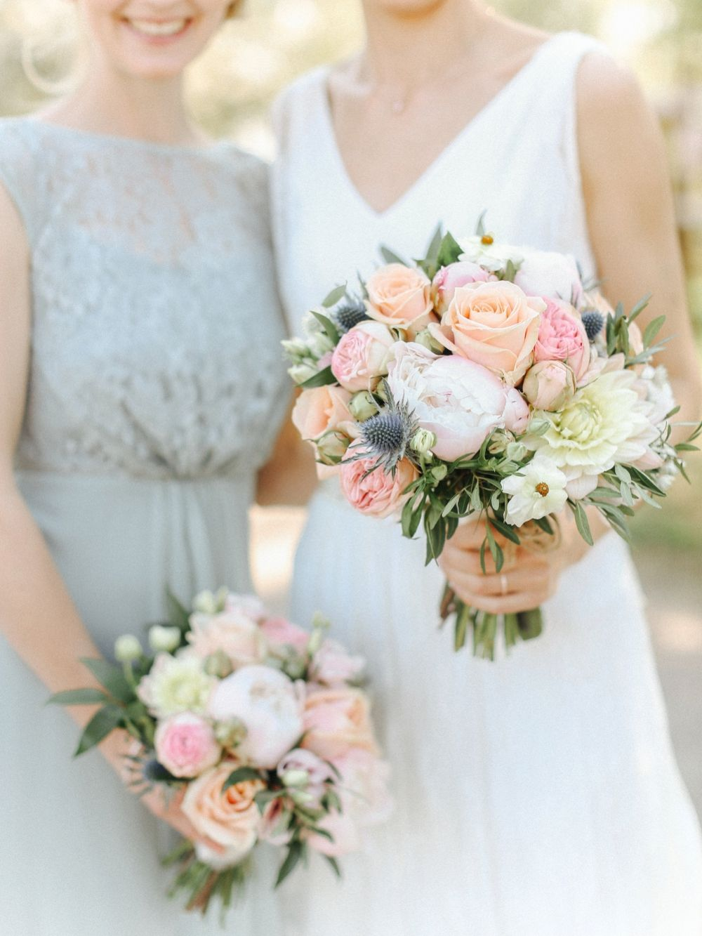 Homemade Country Wedding With Pretty Pastels By Belle And Beau