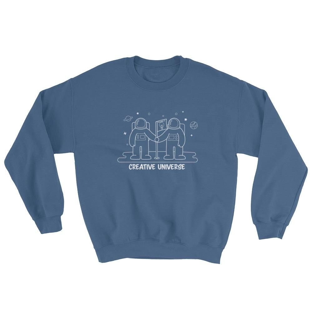 "Sweatshirt ""Creative Universe"""