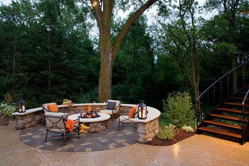 Fire Pit Serenity Southview Design Landscape Architects